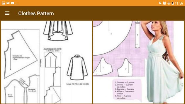 Free Clothes Patterns screenshot 5