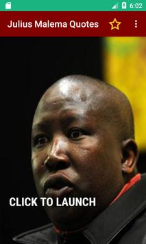 Julius Malema Quotes poster