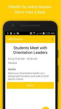 UWO Advisement & Orientation apk screenshot
