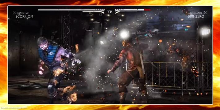 Leguide Mortal Kombat X 2017 apk screenshot