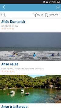 The guide Guadeloupe apk screenshot