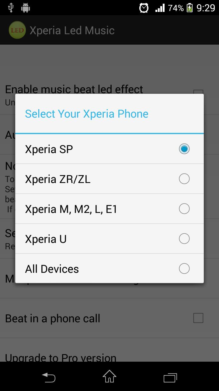 Led Music for Xperia for Android - APK Download