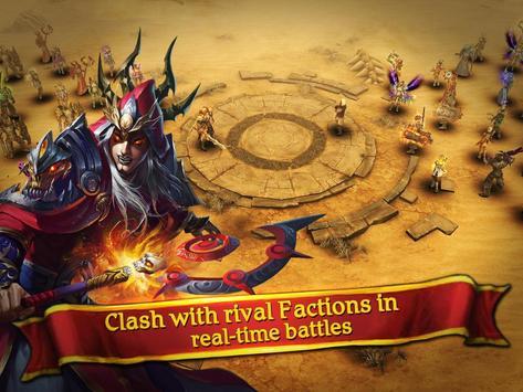 Clash for Dawn: Guild War apk screenshot