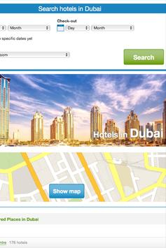 Booking Dubai Hotels poster
