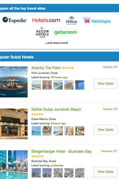 Booking Dubai Hotels apk screenshot