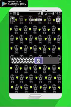Flashlight skull super screenshot 2