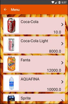 Drinks Order apk screenshot