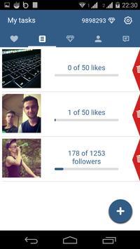 InstGrow - for Instagram (Unreleased) apk screenshot