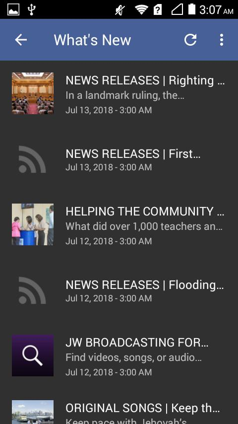 JW PODCAST - Jehovah's Witnesses Audio Teachings for Android - APK