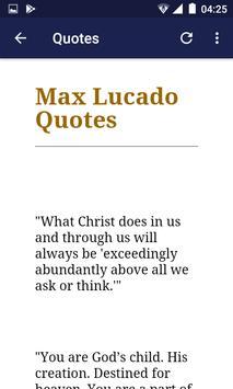 Max Lucado Daily Broadcasts Teachings screenshot 5