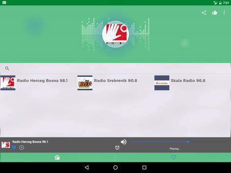 Free Bosnia Herzegovina AM FM screenshot 7