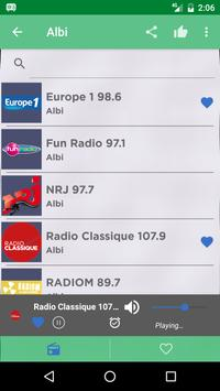 Free France Radio AM FM screenshot 1
