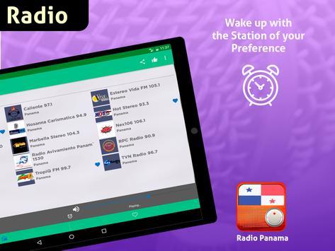 Free Panama Radio AM FM screenshot 12