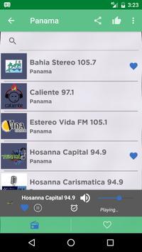 Free Panama Radio AM FM screenshot 1