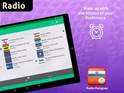 Free Paraguay Radio AM FM screenshot 12