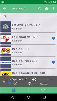 Free Paraguay Radio AM FM screenshot 1
