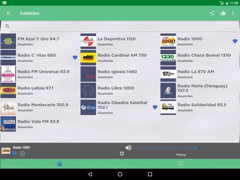 Free Paraguay Radio AM FM screenshot 6