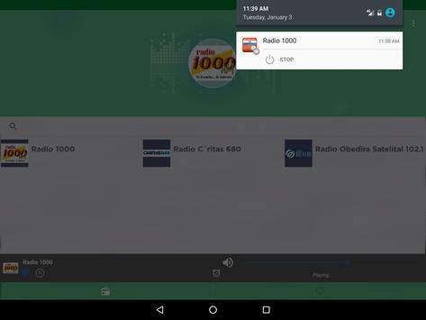 Free Paraguay Radio AM FM screenshot 8