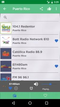 Free Puerto Rico Radio AM FM screenshot 1