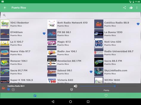Free Puerto Rico Radio AM FM screenshot 6