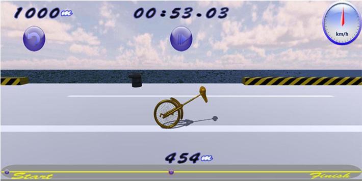 monocycle poster