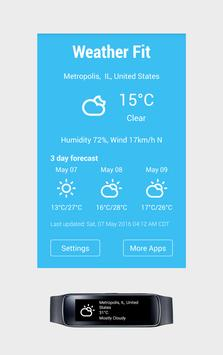 Gear Fit Weather Free poster