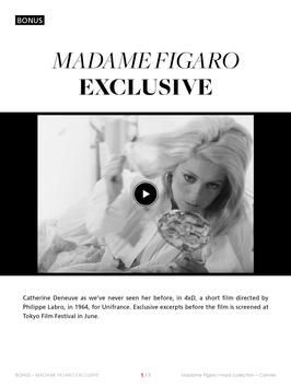 Madame Figaro i-mad collection apk screenshot