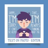 Name on Photo icon