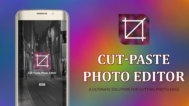 Cut-Paste Photo Editor poster