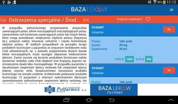 Polfarmex Baza Leków screenshot 23
