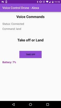Voice Control Drone - Alexa apk screenshot