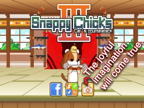 Snappy Chicks 3 :Cat's revenge apk screenshot