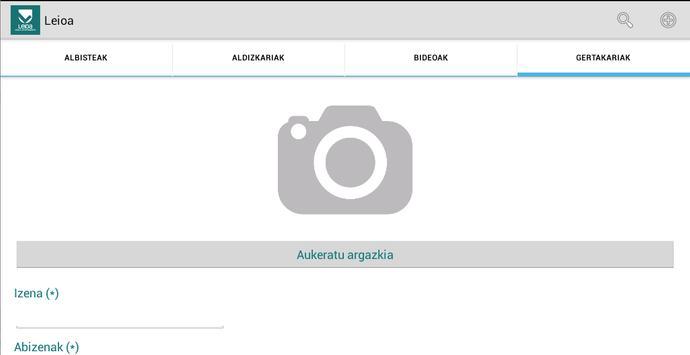 Leioa apk screenshot