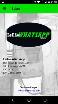 Leilão Whatsapp screenshot 4