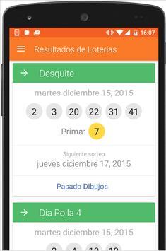 Loteria Resultados Chile Loto apk screenshot