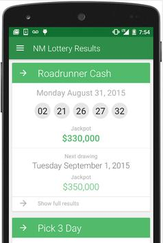 NM Lottery Results screenshot 2