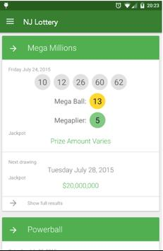 NJ Lottery Results for Android - APK Download