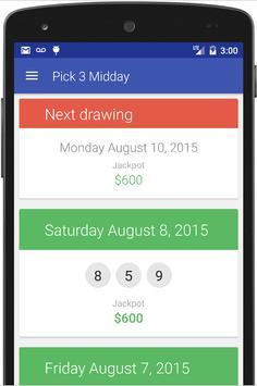KY Lottery Results apk screenshot