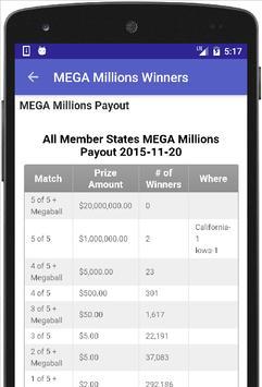 PA Lottery Results apk screenshot