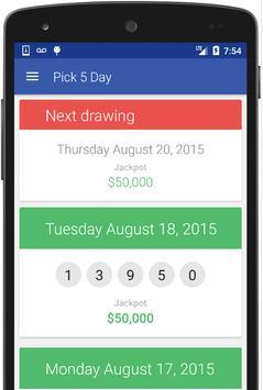 PA Lottery Results screenshot 1