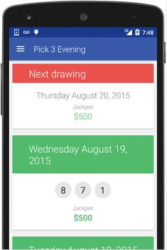 VT Lottery Results apk screenshot