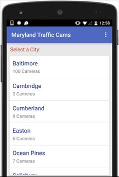 Maryland Traffic Cameras Live poster