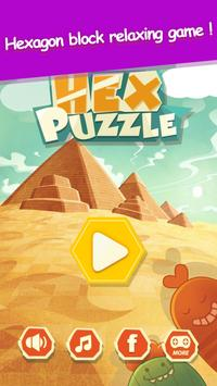 Hex Puzzle - Cell Connect poster