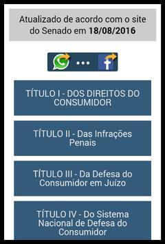 Código de Defesa do Consumidor apk screenshot