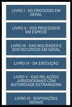 Código de Processo Penal apk screenshot
