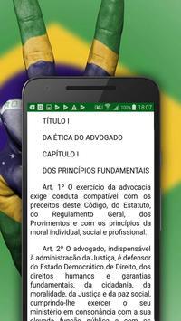 Código de Ética da OAB poster