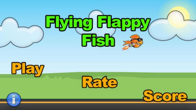 Flying Flappy Fish poster