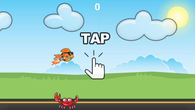 Flying Flappy Fish screenshot 1