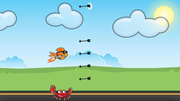 Flying Flappy Fish screenshot 2