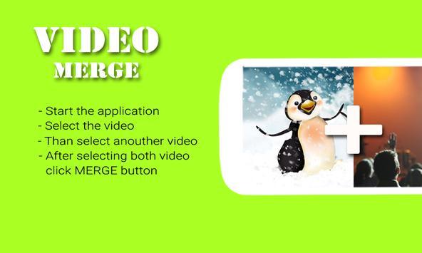 Video Merge & Joiner apk screenshot